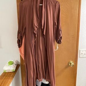 Gently used trench coat from Francescas